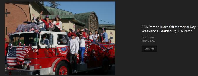 FFA Parade
